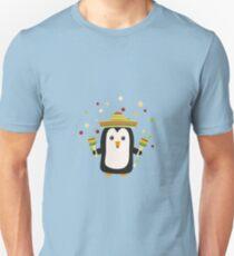 Penguin Mexico Fiesta Rz87f Unisex T-Shirt
