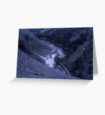 Dovedale V alley Greeting Card