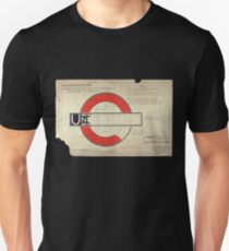 Undground London metro tube T-Shirt