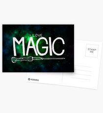 I Love Magic - Galaxy Edition Postcards