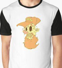 SKINNY STEVE STOOPID FACE Graphic T-Shirt