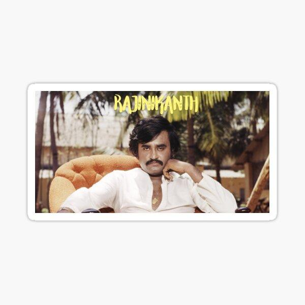 Rajinikanth - Superstar Sticker