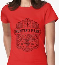 Hunter's Mark Whiskey - Bloodborne Womens Fitted T-Shirt