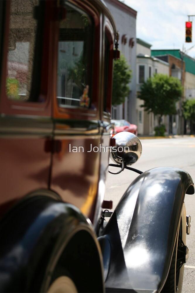 Old Car of Auburn by Ian Johnson