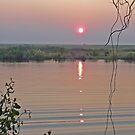 Peace beside the Chobe by Graeme  Hyde