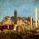 Verlassene Raffinerie von Celeste Mookherjee