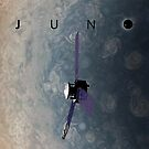 Juno over Jupiter by Ray Cassel