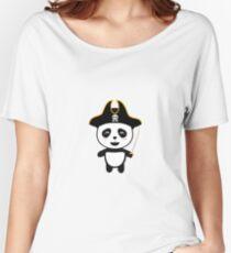 Panda Pirate Captain R5pfg Women's Relaxed Fit T-Shirt