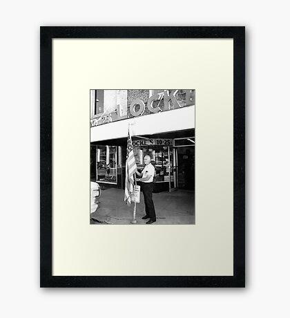 Howard Locke Framed Print
