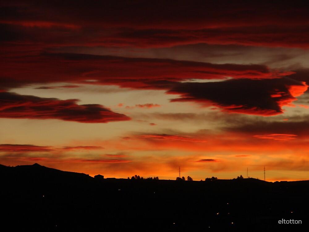 Dramatic Sunrise by eltotton