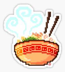 8-bit Ramen Sticker