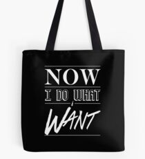Lil Uzi Vert- Now I Do What I Want Tote Bag
