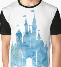 Blue Wishes Graphic T-Shirt