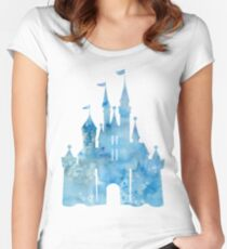 Blue Wishes Women's Fitted Scoop T-Shirt