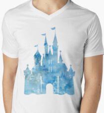 Blue Wishes Men's V-Neck T-Shirt