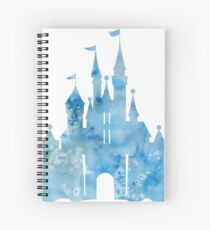 Blue Wishes Spiral Notebook