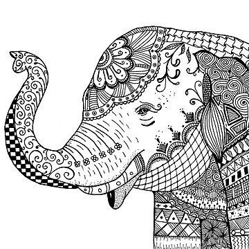 SUMATRAN ELEPHANT by ivysanchez