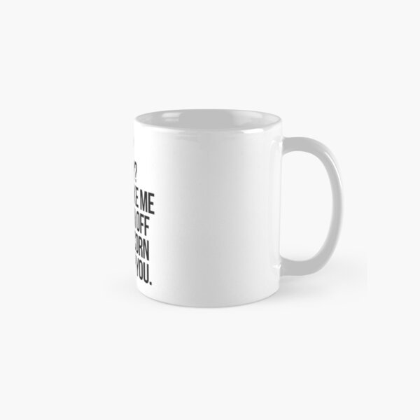 Crazy Unicorn - Black Classic Mug
