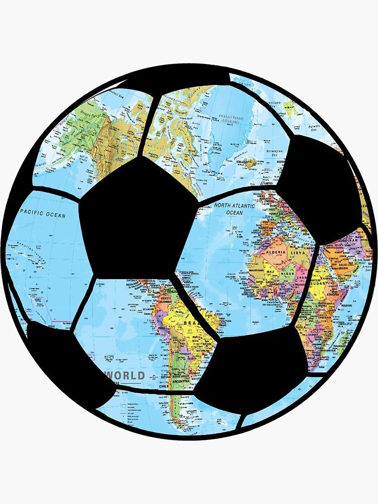 football around the globe  by jackiekeating