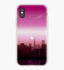 Lesbian Pride Cityscape iPhone Case