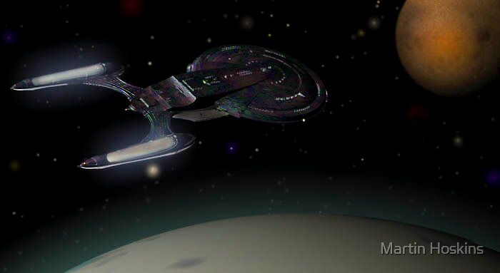 excalibur in orbit by Martin Hoskins