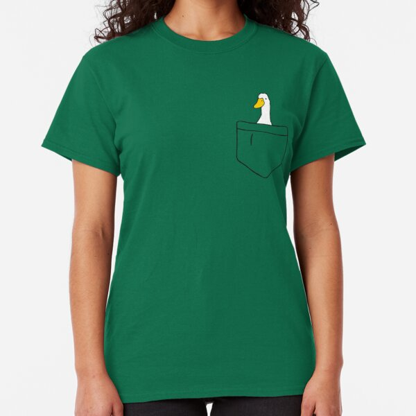 Pocket Duck Classic T-Shirt