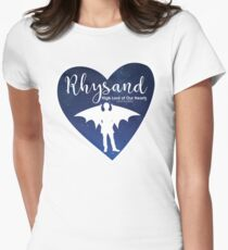 Rhysand High Lord of Our Hearts (and bodies) - ACOMAF Womens Fitted T-Shirt