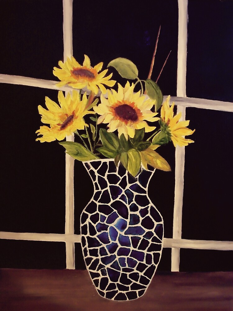 Sunflower Vase by Weshon  Hornsby