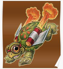 Rocket Tortoise! Poster