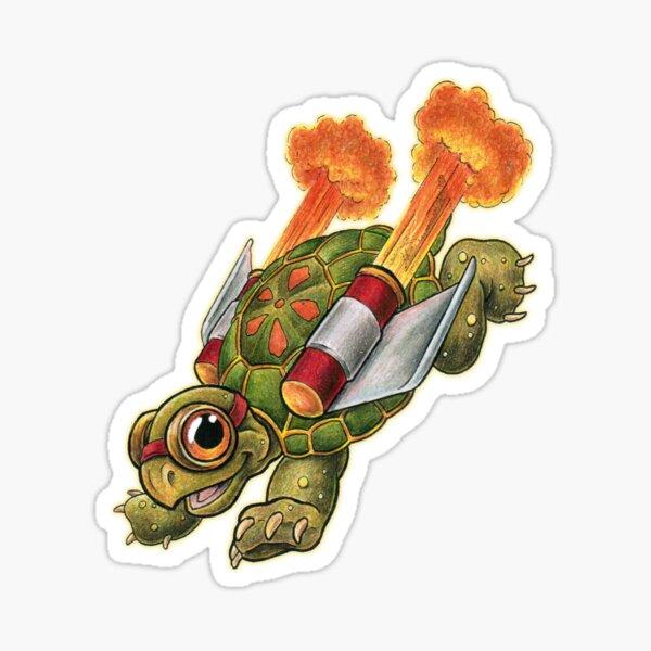 Rocket Tortoise! Sticker