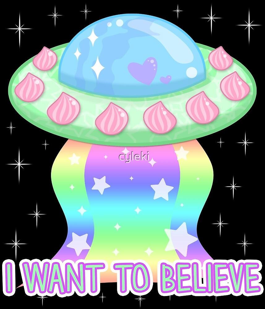 I Want to Believe by cyleki