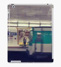 Metro station, underground iPad Case/Skin