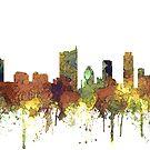 Skyline von Austin, Texas - SG - Safari Buff von Marlene Watson