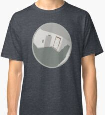 0130 Mirrored hallway - cropped Classic T-Shirt