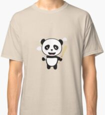 Panda Baseball Player with Ball R99m1 Classic T-Shirt