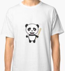 Panda Baseball Player with Ball R99m1 Classic T-Shirt