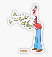 Bird Man Sticker