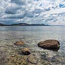 Back Beach 2 - Lyme Regis by Susie Peek