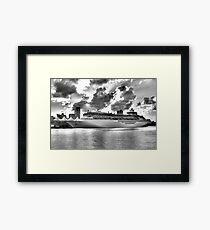 Cruising Framed Print