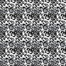Flower Muster von Frank Reubsaet