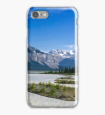 Athabasca River, Icefields Parkway iPhone Case/Skin