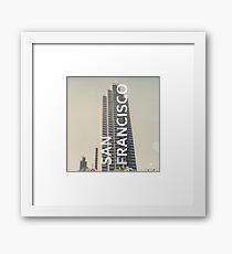San Francisco (San Francisco) Framed Print