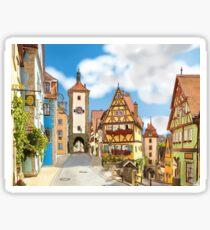 Rothenburg ob der Tauber Sticker