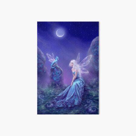 Luminescent Fairy & Dragon Art Art Board Print