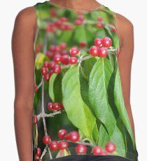 Red Berries Contrast Tank