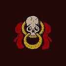 Infinity Skull - Color by Alessandro Bricoli
