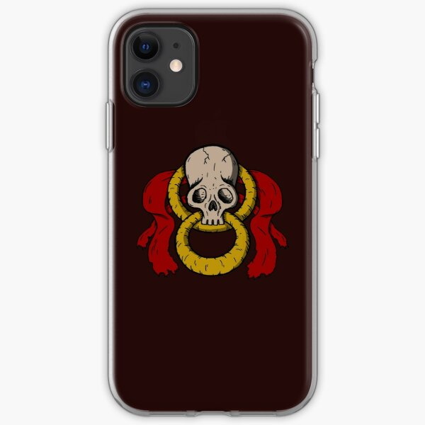 Infinity Skull - Color iPhone Soft Case