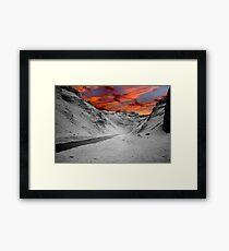 The Winnats Framed Print