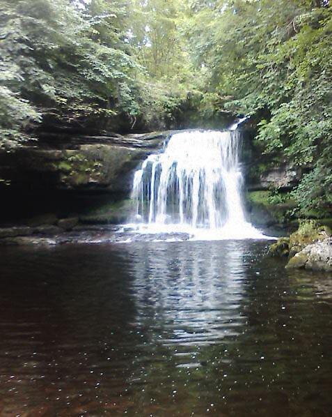 Waterfall by lyndseymarie