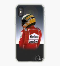 Ayrton Senna Painting Illustration iPhone Case
